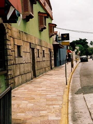 モンテゴベイの街並み