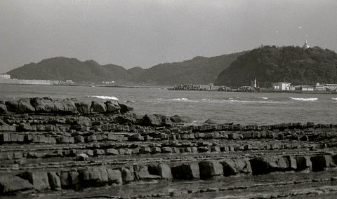 日南海岸と洗濯板
